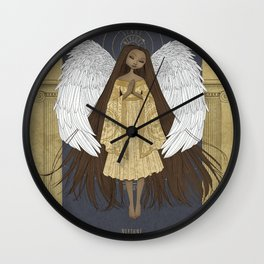 Celestial Angel Wall Clock