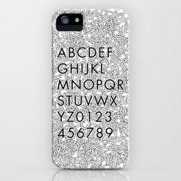 Futura Jumble iPhone Case