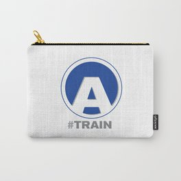 NY MTA Subway A Train Line Carry-All Pouch