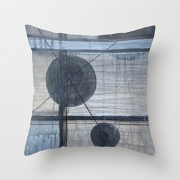 Spheres of Isolation Throw Pillow
