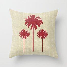 Christmas Palm 6 Throw Pillow