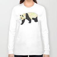 panda Long Sleeve T-shirts featuring Panda by Ben Geiger