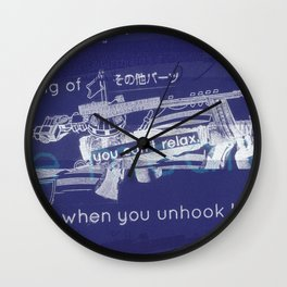 You Can't Relax Wall Clock
