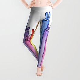 Rainbow Bunnies Leggings