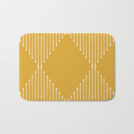 Geo / Yellow Bath Mat
