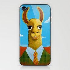 Executive LLama iPhone & iPod Skin