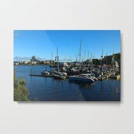 Harbor Of Victoria - Vancouver Island Metal Print
