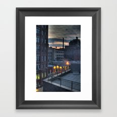 A Dumbo Sunrise Framed Art Print