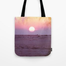 Gulf Islands Sunset Tote Bag