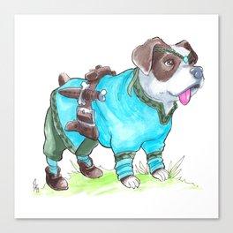 DogDays19 Korra Canvas Print