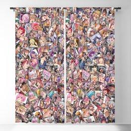 Ahegao color Blackout Curtain