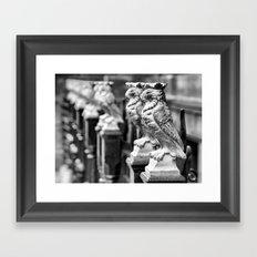 Leeds Owls Framed Art Print