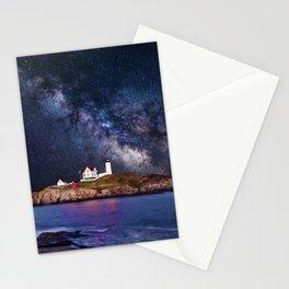 Lighthouse under the Stars Stationery Cards