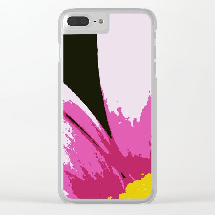 Flower | Flowers | Daisy | Mod Daisy Clear iPhone Case