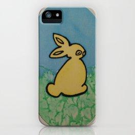Soc Bunny iPhone Case