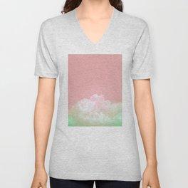 Dreamy Watermelon Sky Unisex V-Neck