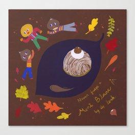 Autumn Mont Blanc Canvas Print