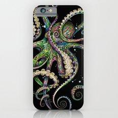 Octopsychedelia (black) iPhone 6s Slim Case
