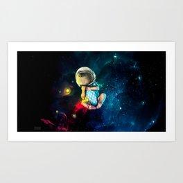 Baby Astronaut Art Print