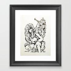 The Lynx Framed Art Print