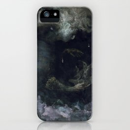 The Sea Of Rains iPhone Case