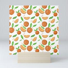Happy Oranges Mini Art Print