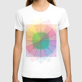 geometric abstract 1 T-shirt
