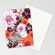 Croc Floral Stationery Cards