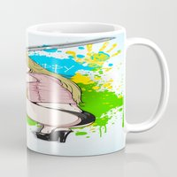 knight Mugs featuring KNIGHT by Don Kuing