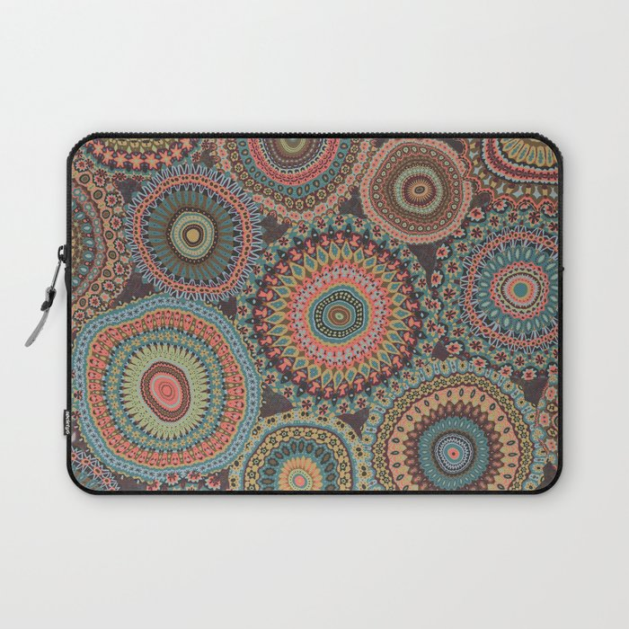 Boho Patchwork-Vintage colors Laptop Sleeve