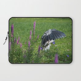 Welcome Heron Laptop Sleeve