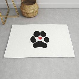 Dog Paw Rug
