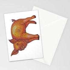Patterned Piglet Stationery Cards