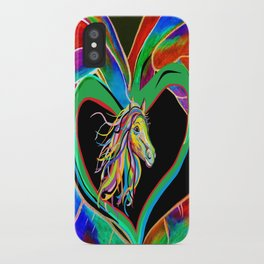 I HEART my HORSE! iPhone Case