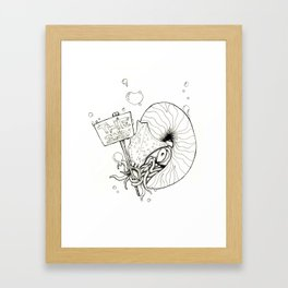 This is NAUT The End Framed Art Print