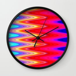 Pattern3 Wall Clock