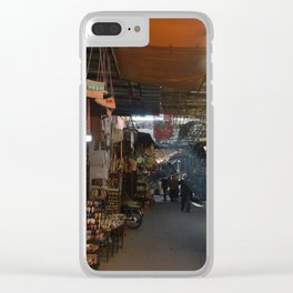 Morning in the Souks (Marrakech) Clear iPhone Case