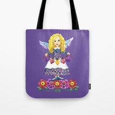 Angel Love (Purple) Tote Bag
