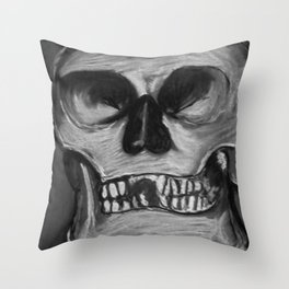 Once Upon an Ending - B&W Throw Pillow