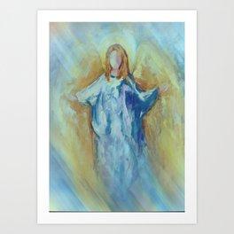Angel Of Harmony Art Print