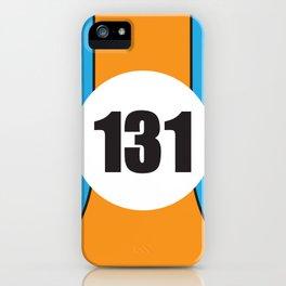 Porsche Gulf iPhone Case