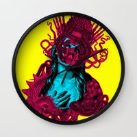 passion Wall Clocks featuring Passion by DIVIDUS