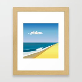 Rothko at the Beach Framed Art Print