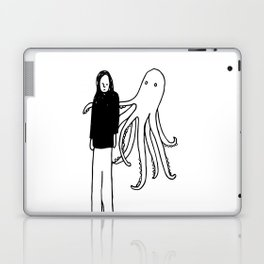 Octopus Hug Laptop & iPad Skin