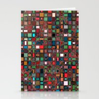 mosaic Stationery Cards featuring Mosaic by Lyle Hatch