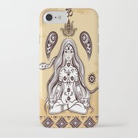 om iPhone & iPod Cases featuring om by flamenco72