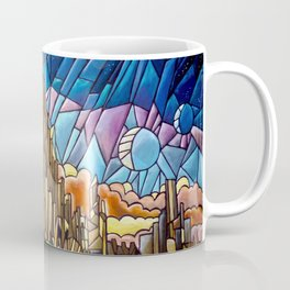 Asgard stained glass style Coffee Mug