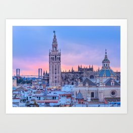 Sevilla, Spain Art Print