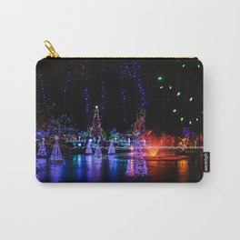 frozen pond lights Carry-All Pouch