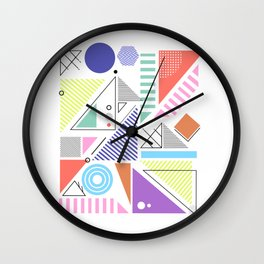 Abstract #1 Wall Clock